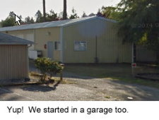 The Garage - our first office